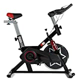 XS Sports SB350 Aerobic Indoor Training Exercise Bike-Fitness Cardio Home Cycling Racing-with PC + Pulse Sensor (Black)