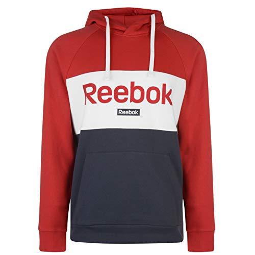 Reebok Te Big Logo Oth Sudadera, Hombre, Rebred, S