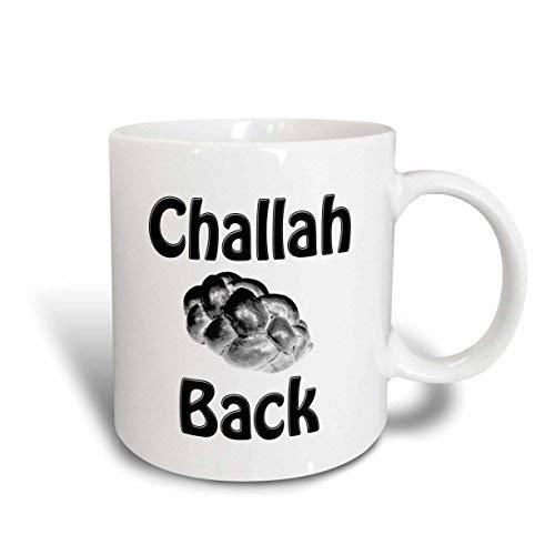 Queen54ferna Challah Back, Joods, Brood, Challah Brood Keramische Mok, 11-Ounce