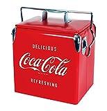 Koolatron Ice Chest with Bottle Opener - 18 Can Capacity, (14 Quarts/13 Liters) (Coca Cola)