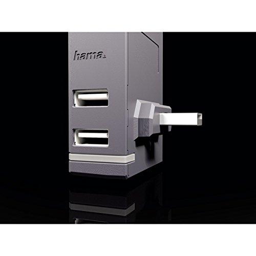 Hama 4-Port USB-Hub (für Xbox One, 4-fach USB Erweiterung mit LED-Anzeige) schwarz