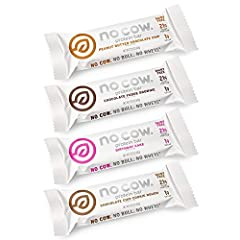DAIRY FREE PROTEIN BARS - No cow. No bull. No whey. Our non dairy bars are made with a blend of brown rice and pea protein to create a complete amino acid profile. We do not use whey protein, meaning our bars are lactose free. Goodbye rock in your st...