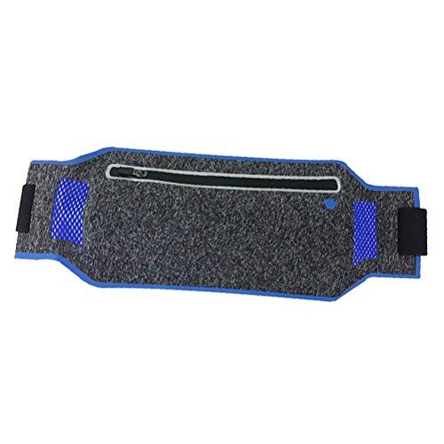 VORCOOL Pochete de corrida impermeável com cinto ajustável para iPhone X 8 Plus Samsung Note 8 Google Pixel Ideia para corrida, caminhada, ciclismo, caminhada, fitness (azul)