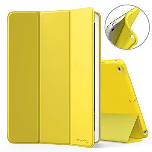 TiMOVO Hülle für iPad Mini 1/2/3, Smart Case Leicht Slim Soft TPU Schutzhülle, mit Auto Wake/Sleep Funktion, Magnetabdeckung für Apple iPad Mini 3/2/1 7,9 Zoll Tablet, Gelb
