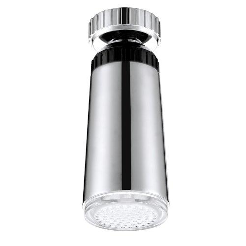 Corriente de Agua Del Grifo Del Resplandor LED de La Luz Del Grifo Automático 3 Colores Cambiantes 5.5cm