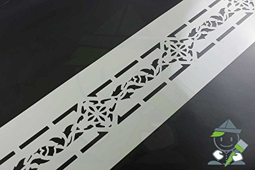 Wandschablone Motiv 10507