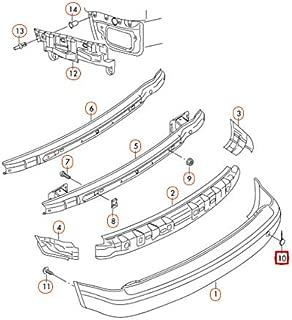 GTV INVESTMENTS 3 E90 Rear M Sport Bumper Diffusore 51127906504 7906504 NUOVO ORIGINALE 2008