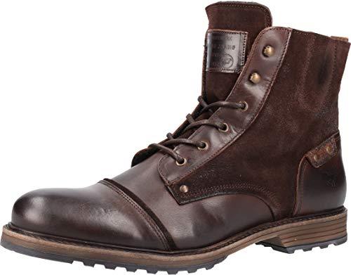 MUSTANG Shoes 4926-502-32 Bottes pour homme Marron - Marron - Marron foncé., 41 EU