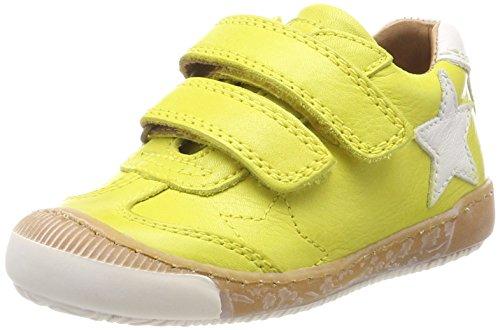Bisgaard Unisex-Kinder Klettschuhe Sneaker, Gelb (Yellow), 27 EU