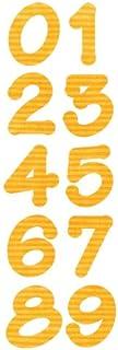 Sizzix 659823 Outil de Scrapbooking Bigz Alphabet Set de 2 Dies Nombres de Ombre Lollipop de E.L. Smith
