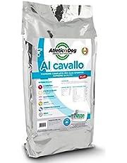 Necon Crocchette per Cani da 3 kg. Croccantini Premium, Mangime 100% Italiano Adatto ai Cani di Ogni Taglia con 18% di Farina di Cavallo