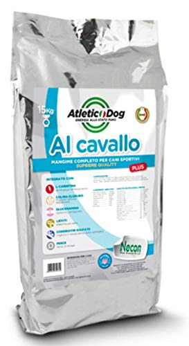 Necon Crocchette per Cani da 3 kg. Croccantini Premium, Mangime 100% Italiano Adatto ai Cani di Ogni...