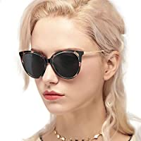 Myiaur Fashion Cat Eye Polarized Sunglasses