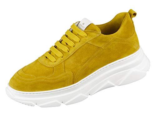 Copenhagen Damen Sneaker Schnürer CPH40 gelb 723462