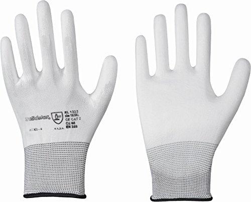 Solidstar 12 Paar Nylon Strick Handschuh EN388 CE Cat2 Größe 9
