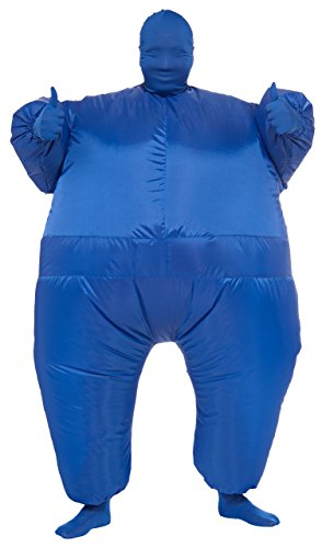 Rubie's Inflatable Full Body Suit Costume, Blue, One Size