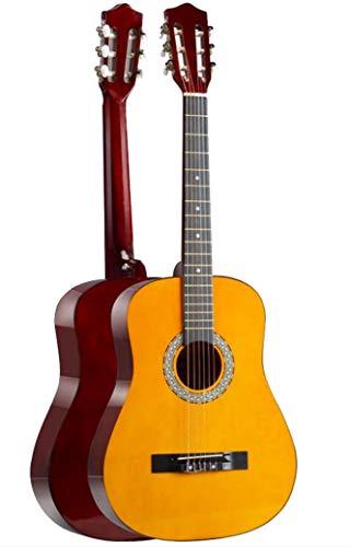 BAIZAN Spruce Guitarra Clásica, Principiante Transmisión De Sonido De La Guitarra, De Chapa De La Guitarra, Adulto Filete Guitarra Acústica,4