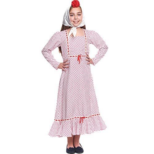 Disfraz Chulapa Niña Clásica - San Isidro (3-4 años) (+ Tallas)