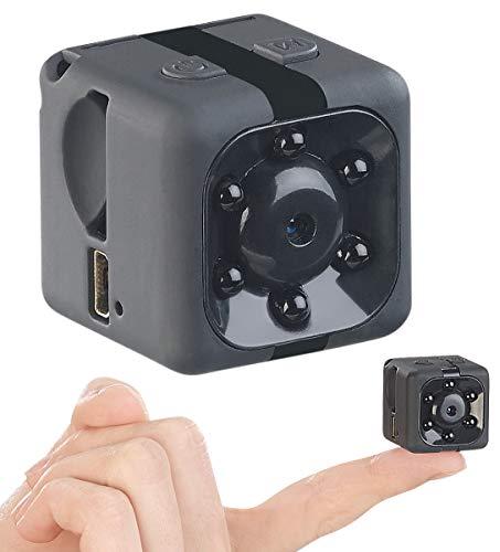 Somikon HD-Micro-Videokamera & Webcam, HD 720p, mit Bewegungserkennung & Akku
