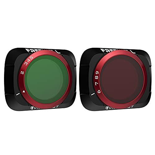 Freewell Variable ND (edizione nebbia) 2-5 Stop, 6-9 Stop 2 Filtri VND Compatibili con Mavic Air 2 Drone
