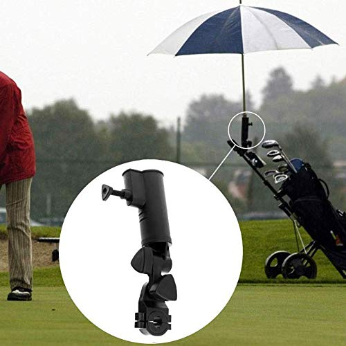 SUNERLORY Paraplu Stand Visstoel Rolstoel Universele Aanpassing Eenvoudige Fix Golf Cart Clip Brackets Huishoudelijke Ronde Hoek wandelwagen Lange Handvat Outdoor Sport Thuis