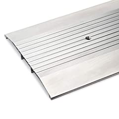 "72 3/4"" Long 8"" Wide x 1/2"" Heavy Duty Corrugated Aluminum Threshold Pre-Punched installation holes, screws included. Made In America Randall Manufacturing Co., Inc part number 6 FT A-84 ADA Handicap Accessible"