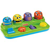 Fisher-Price Brilliant Basics Boppin' Activity Bugs [Amazon Exclusive], 11.5 x 6.2 x 3.8 inches ; 1.5 pounds