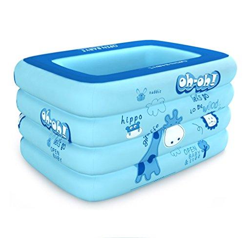 QLM-Inflatable bathtub Praktische tragbare Kind Erwachsene aufblasbare Ba Kinder Schwimmbad Home Kinder Grosser Pool Baby Ocean Pool Pool Aufblasbares Bad Pool and Inflatable Plunge Bath