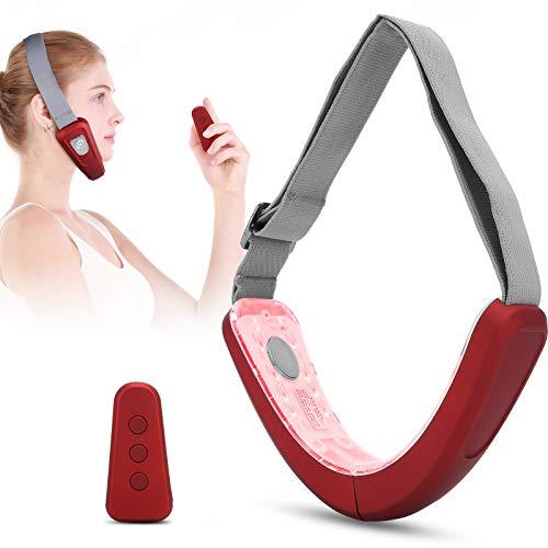 Massaggiatore modellante per viso a V, macchina per sollevamento viso elettrico Macchina per viso a V che dimagrisce massaggiatore per riduttore del doppio mento a vibrazione intelligente
