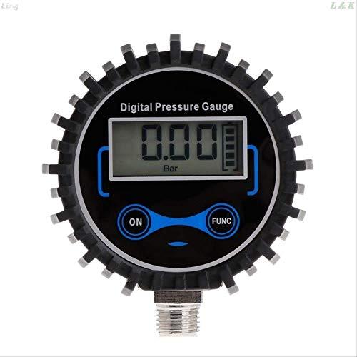 a50 Manometro Presion Neumaticos Digital Medidor Digital De Presión De Neumáticos Air PSI Meter Coche Moto Monitor De Presión De Neumáticos U50a