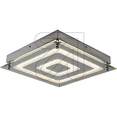 Lámpara LED de techo cromo 3000K 21W 122384