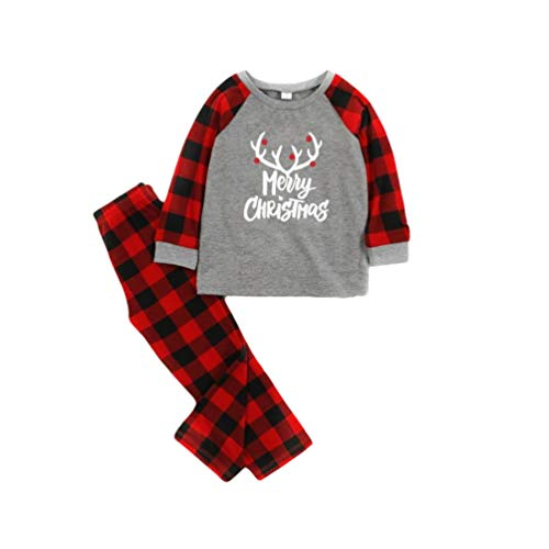 Gyratedream Sweatshirts Women Men Kids Family Matching T-Shirt Parents-Child Christmas Printed Long Sleeve Tops