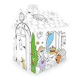 Kartonhaus Casa de Juegos para Pintar