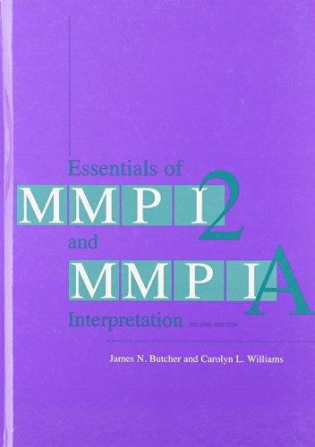 Essentials of MMPI-2 and MMPI-A Interpretation, Second...