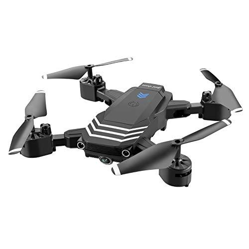 LYHLYH Mini Folding HD 4K aérienne Drone Télécommande Quadcopter, Drone de Commande à Distance Haute définition aérienne avec Le Mode sans tête lumière LED d'une Touche de Retour Automatique