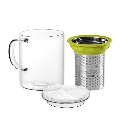 TEA SHOP - Accesorios - Taza c/filtro - All in One Mug Green - 300ml