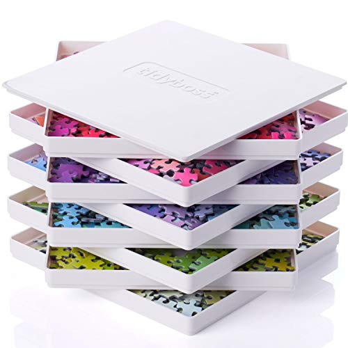 Tidyboss 8 Puzzle Sorting Trays with Lid 8