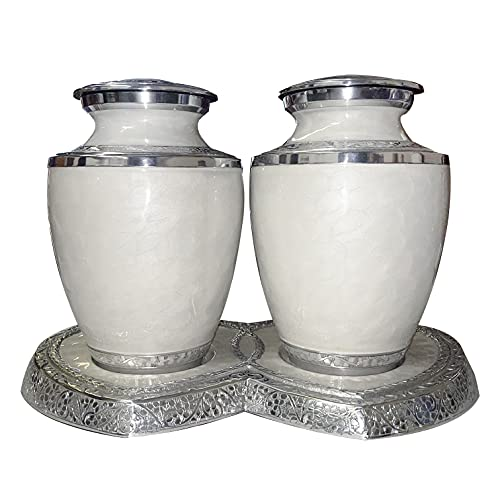 Solid Brass Funeral Cremation Companion Urn