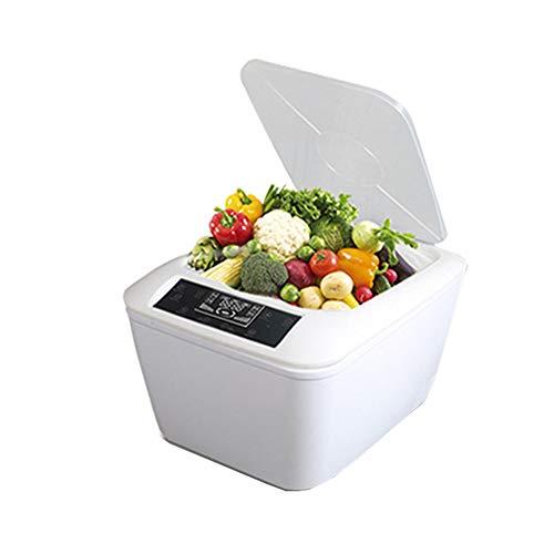 SSZZ Máquina de desinfección de Frutas y Verduras - Dispositivo de desinfección de Lavado de Verduras para Eliminar sustancias nocivas