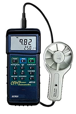 Extech Instruments Anemometer with Nist