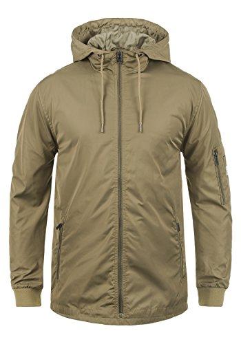 Blend Cray Herren Übergangsparka Parka Mantel Lange Jacke Mit Kapuze, Größe:XXL, Farbe:Safari Brown (75115)