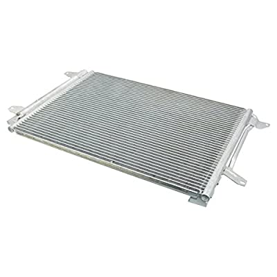 AC Condenser A/C Air Conditioning with Receiver Drier for VW Jetta Beetle