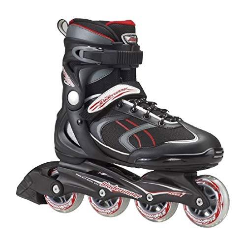 Rollerblade Patines en Linea Mod. 0T309000 741 Advantage Pro Fitness Bladerunner Talla 28, Negro/Rojo