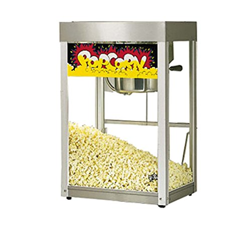 Star Mfg. Jetstar Popcorn Popper Machine w/ Stainless Finish