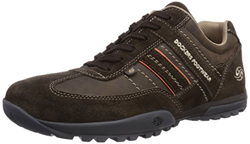 Dockers by Gerli Herren 36HT001-204320 Sneakers, Braun (cafe 320), 44 EU
