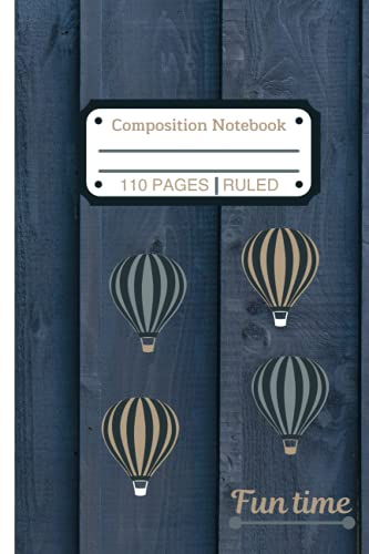 Blimps Notebook: Fun time with blimp design (6