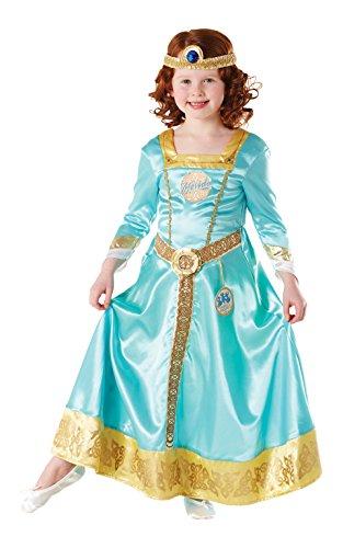 Ribelle the Brave - Merida Deluxe Costume, 104 cm