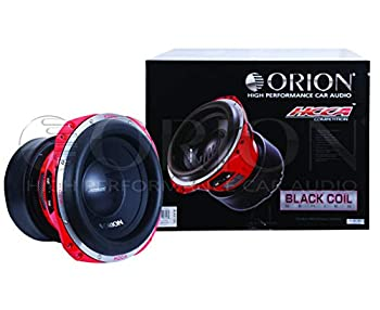 ORION HCCA Series SUBWOOFER CAR Audio CAR Stereo RMS Power WATTS 2500  HCCA122 / 12  2 OHMS