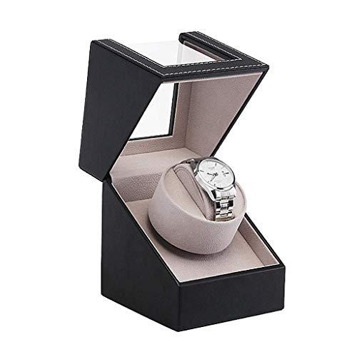 Caja enrolladora automática para relojes Caja enrolladora para relojes con almacenamiento Caja enrolladora doble para relojes, con batería silenciosa Caja enrolladora para relojes Cajas de almacenami
