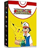 Album Compatible Con Pokemon, Album Compatible Con Pokemon Para Cartas, Álbum de Pokemon, Carpeta compatible con Cartas Pokemon, Album compatible con Cartas de Pokemon(Ash and PIKACHU)